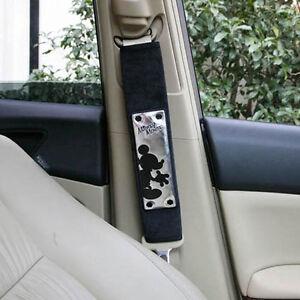 DISNEY Mickey Mouse Car Seat Belt Shoulder Pad Car Accessories 1PC ...