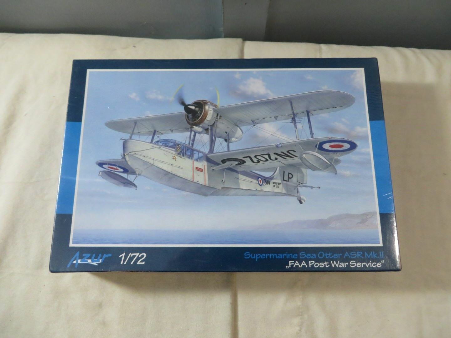 Azur 1 72 Supermarine Sea Otter ASR Mk.II FAA Post War Model Kit A047 SEALED