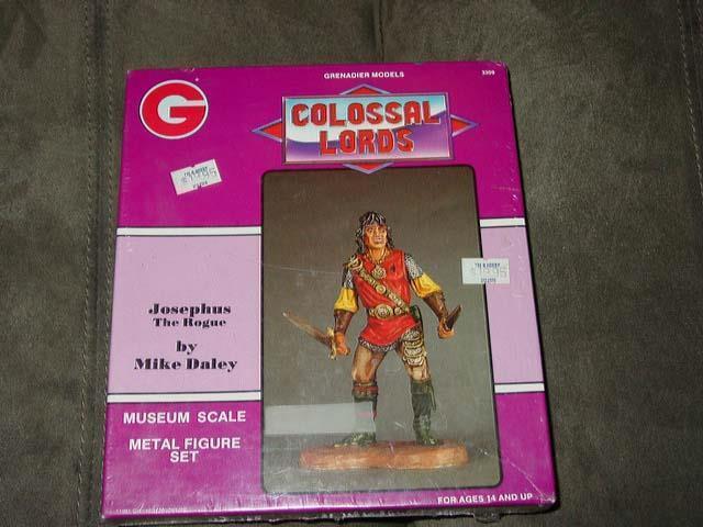 Grenadier Models - Colossal Lords - Metal F Miniature Figure Set 1990  (Sealed)