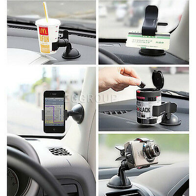 Universal 360° Rotating Car Windshield Mount Holder Stand for iPhone 7 Samsung