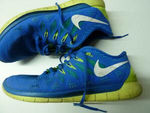 Details zu Nike Free Run 5.0 Gr. 43 US 9,5 27,5 cm Nike # 642198 400 blue white