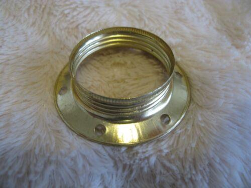 10 x E27 Brass Shade Ring Lamp Light Bulb Holder Job Lot Uk Seller