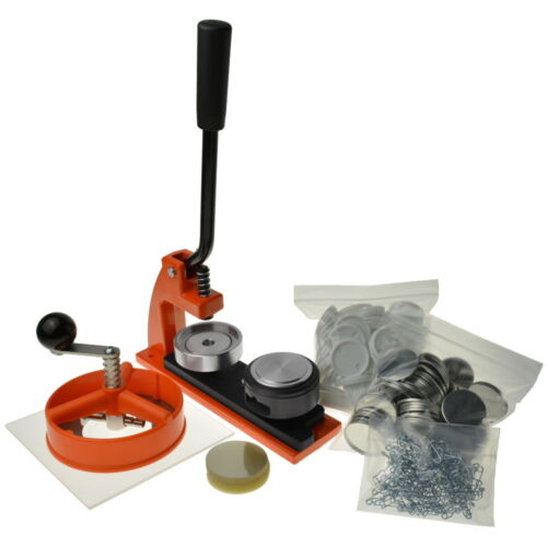 Enterprise /'Micro/' Badge Maker circle cutter and choice of die 500 components