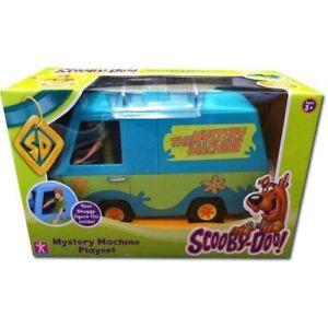 Scooby-Doo-Mystery-Machine-VEHICULE-amp-FIGURINE-Shaggy
