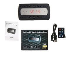 1080P HD IP Spy Camera Alarm Clock Motion Detection Hidden DVR Night Vision