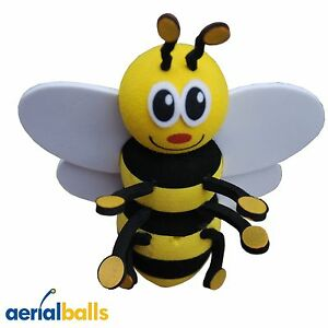 Happy-Honey-Bumble-Bee-Car-Aerial-Ball-Antenna-Topper