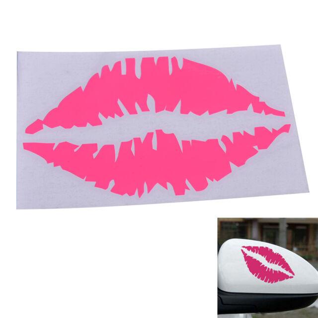 1 Pcs Sexy Lips Car Sticker Car Decor Accessory Rose Lips Motor Sticker Decal JR