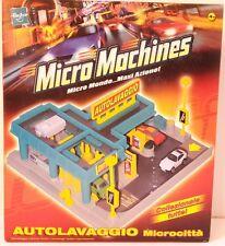 Gioco Micromachines Micro Machines Autolavaggio Microcittà Hasbro Macchinine NEW