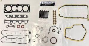 Vauxhall-Astra-G-GSi-Z20LET-Elring-Completa-Motor-Junta-Conjunto-Inc-Pernos-amp-Retenedores