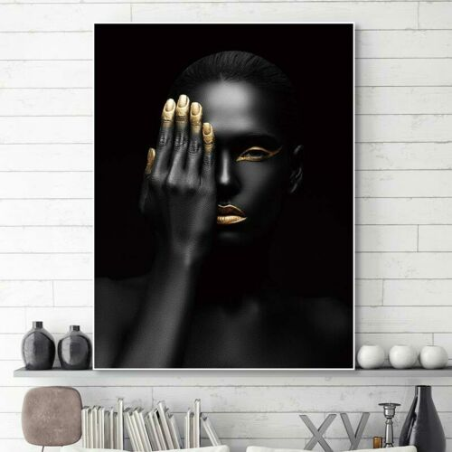 Canvas painting women wall pictures for living room wall art canvas posters