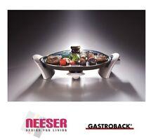 GASTROBACK Design Tischgrill mit Glashaube 42505 SONDERPOSTEN