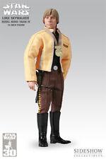 Sideshow LUKE SKYWALKER YAVIN IV 30th Anniversary EXCLUSIVE Star Wars Figure