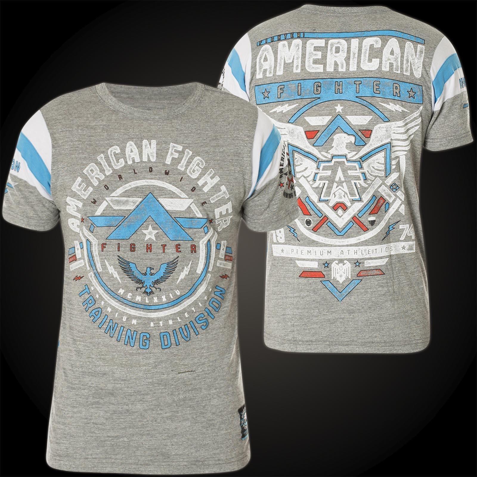 AMERICAN FIGHTER Affliction T-Shirt Catalina Grau T-Shirts