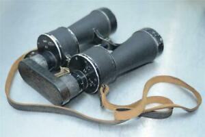 Rare-German-Navy-Kreigsmarine-Beh-Leitz-T-KF-7X50-Coated-Military-Binocular-WW2