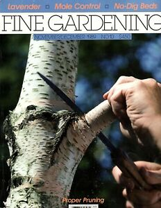 Tauton's Fine Gardening - Nov/Dec 1989 #10 - Proper Pruning, Hydroponics