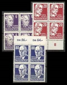 Germany-GDR-LOT-Sc-123-128-134-BL4-mint-NH-265-to-70-272-to-277-SEE-SCAN-FVF