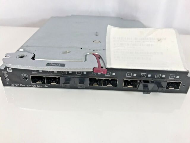 HP Virtual Connect Flex-10//10D Module for c-Class BladeSystem 638526-B21