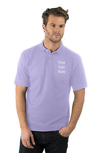Personalised-custom-embroidered-Premium-Polo-Shirt-Lilac-Company-Logo