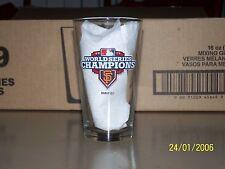 San Francisco Giants 2012 World Series Champion Budweiser 16 Oz Pint Glass NEW