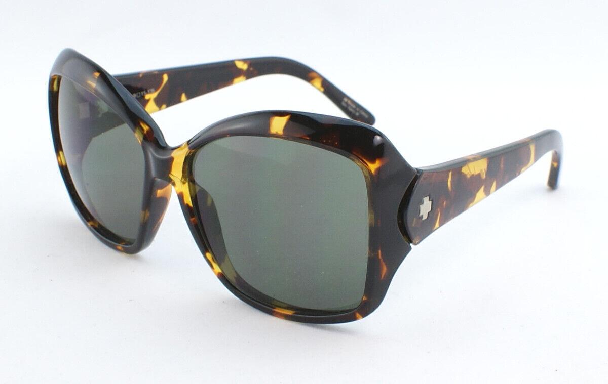 [Used] Spy Honey Sunglasses 673035623133 - Vintage Tortoise/Gray Green