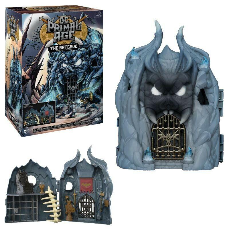 Dc Primal Age Diorama Spielset Batcave Funko