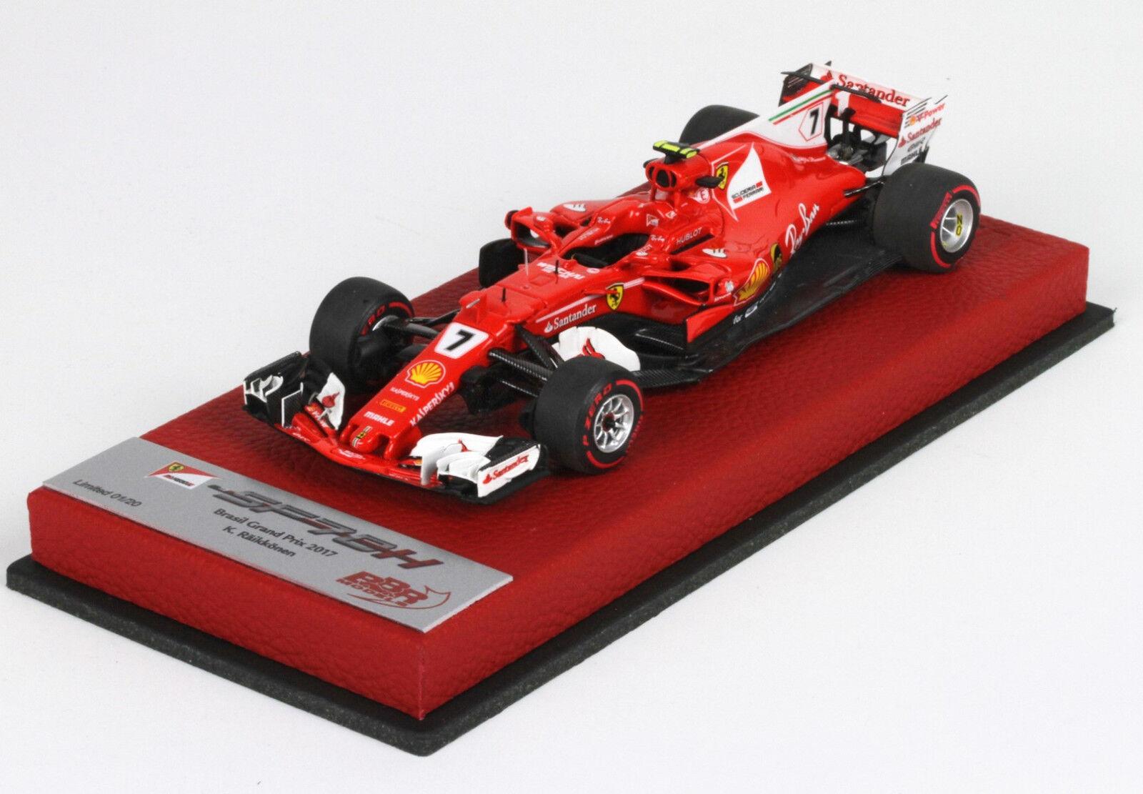 Ferrari SF70-H GP Brazil 2018 K.Raikkonen  lim.ed.20 pcs BBRC211BPRE BBR