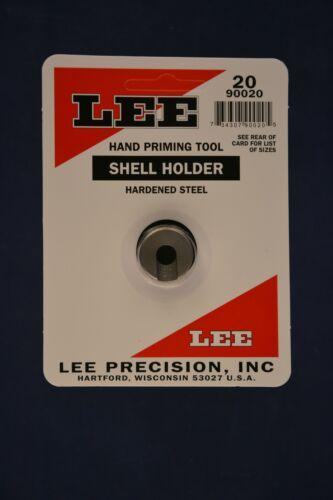 LEE Hand Priming Tool Shell Holder #20 New in Package #90020