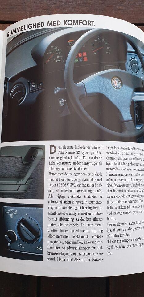 Brochure, Alfa Romeo 33
