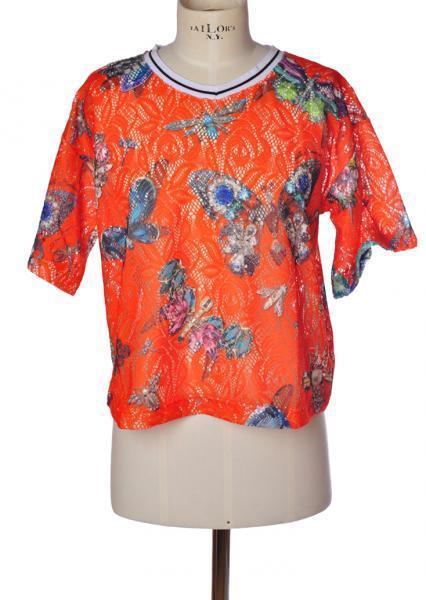 Gaëlle Paris  -  Sweaters - Female - Orange - 2191317A183352