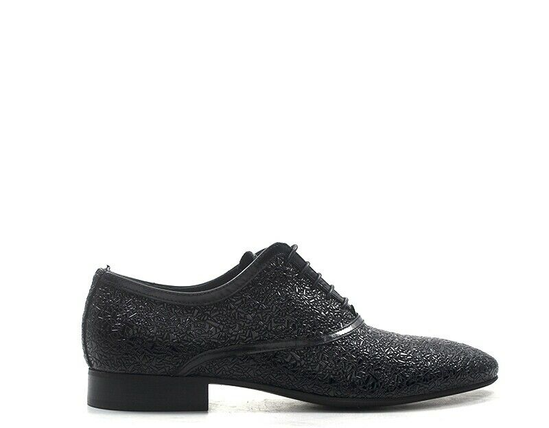 Zapatos EVEET Hombre negro Cuero natural 19401-NE