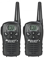 Midland Lxt118 22-channel Gmrs With 18-mile Range, E Vox, And Channel Scan (pair