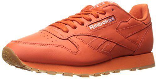Reebok  Mens Cl Lthr Gum Cu Fashion Sneaker- Pick SZ color.