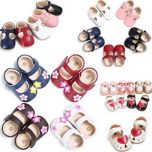 Soft-Infant-Baby-Newborn-Sole-Princess-Shoes-Girl-Kid-Toddler-Bow-Crib-Prewalker