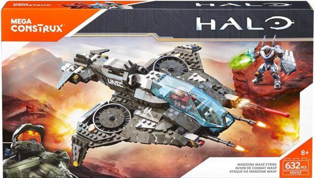 HALO Warzone Wasp Strike (FDY53) 632 pcs by MEGA CONSTRUX RARE! LQQK!