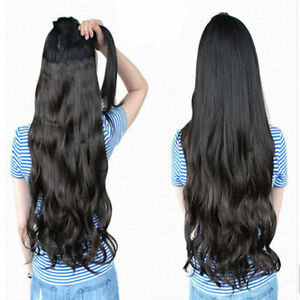 28-inch-clip-in-hair-extensions-One-piece-5-Clips-feels-real-light-blonde