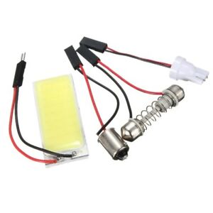 3X-T10-501-W5W-BA9S-Festoon-Dome-Interior-36-LED-COB-Adapter-Panel-Light-Bu-G8Q7