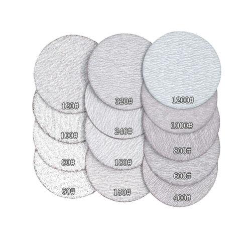 """7/"""" Hook and Loop Sanding Discs Orbital Sander Pads Sandpaper 60-1200 Grit 1/"""""""