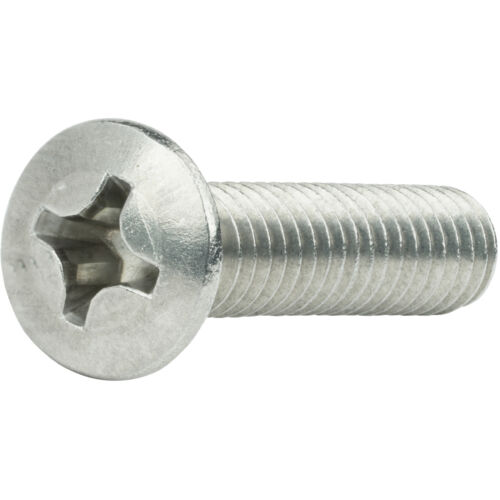 """4-40 x 3//4/"""" Phillips Oval Head Machine Screws Stainless Steel 18-8 Qty 100"""