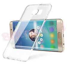 Ultra Slim Clear Transparent Body Protection Gel Case for Samsung Galaxy S6 Edge