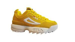Shoes-Fila-Urban-Disruptor-Low-Unisex-Man-Woman-Sneakers-Yellow-Vintage-90-039-s-Her