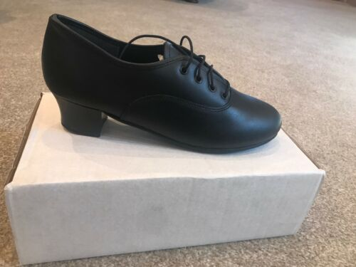 Black Classic Oxford Tap Shoes UK 6
