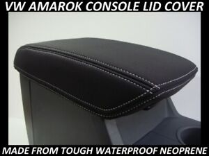 VW-AMAROK-NEOPRENE-CONSOLE-LID-COVER-WETSUIT-MATERIAL-NOV-2011-CURRENT
