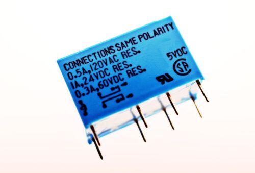 RY5W-K Signal Relais 5VDC 1A DPDT für Audio UI TAKAMISAWA # 714565
