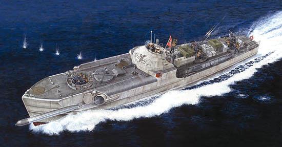 Italeri 1 35 S-100 Schnellboot Torpedo Boat