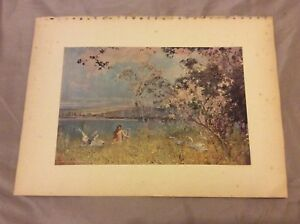 Antique-Book-Print-An-Idyll-of-Spring-East-1910