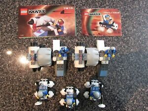 Lego-Life-on-Mars-3-Rover-and-2-Mono-Jet-Complete-w-booklet