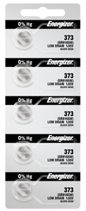 Energizer-373-Silver-Oxide-Coin-Cell-Batteries-5-Pack-Tear-Strip-new