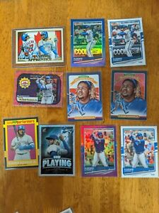 Vladimir guerrero jr 10 Card Lot #2 clearance price reduced buy now hot player