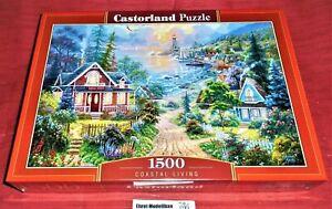 Puzzle 1500 Teile - Coastal Living - C-151929-2 Neu 68 x 47 cm Neu