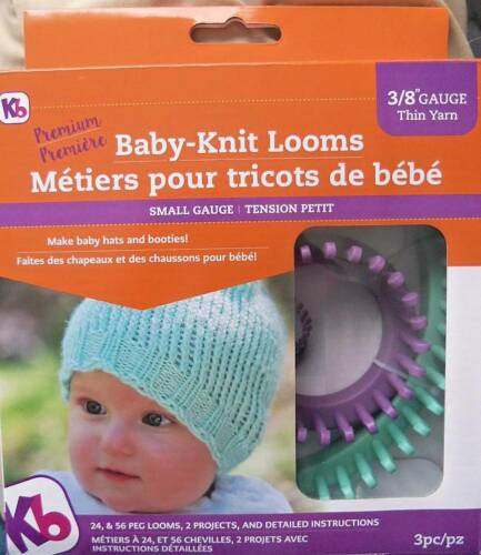 """Knitting Board  Baby Looms 2 Sizes Small 3//8/"""" Gauge  Use Weight #3 or 4 Yarn"""